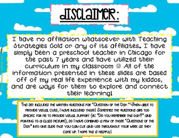 Teaching Strategies Gold Sand Anchor Charts