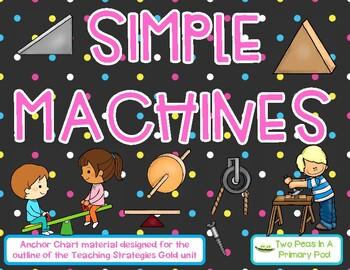 Creative Curriculum Teaching Strategies Gold Simple Machines Anchor Chart