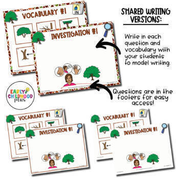 Teaching Strategies Gold- TREES Study – Investigation Questions & Vocabulary