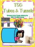Word Cards for use with Teaching Strategies Gold Tubes and Tunnels