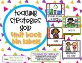 Teaching Strategies Gold Unit Book  Bin  Labels