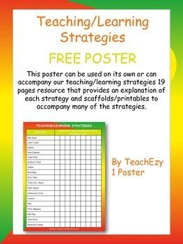 Teaching Strategies Poster