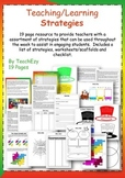 Teaching Strategies Resource