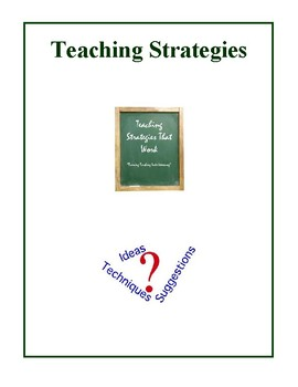Teaching Strategies That Work