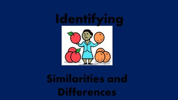 Teaching Strategy: Identifying Similarities and Differences