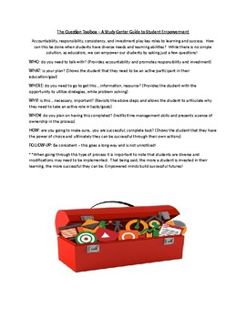 Teaching Strategy Toolbox - A Guide to Success