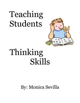 Teaching Students Thinking Skills eBook