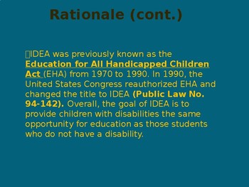 Teaching Students With Disabilities Power Pt.