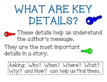 Teaching Students to Identify Key Details in Fiction