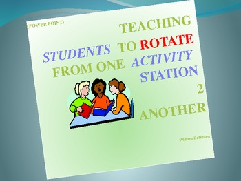 Teaching Students to Rotate From One Activity Station 2 Another