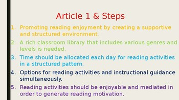 Teaching Students with Reading Needs