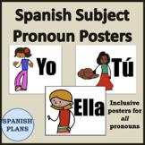 Spanish Subject Pronouns Posters