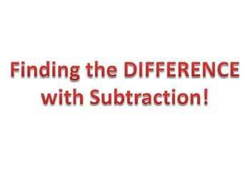 Teaching Subtracting Powerpoint - CC: 4.NBT.4