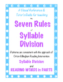 Teaching Syllabication for Advanced Decoding in Reading Multi-Syllable Words