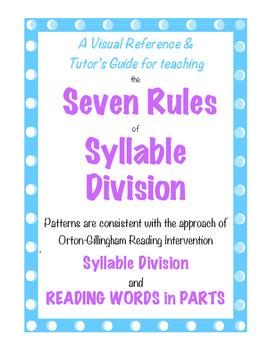 Teaching Syllabication for Advanced Decoding in Reading Mu