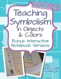 Teaching Symbolism in Literature With Objects & Colors - Charts w/Answer Keys