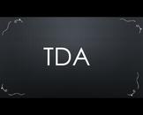 Teaching TDAs