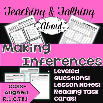 Teaching & Talking about Making Inferences