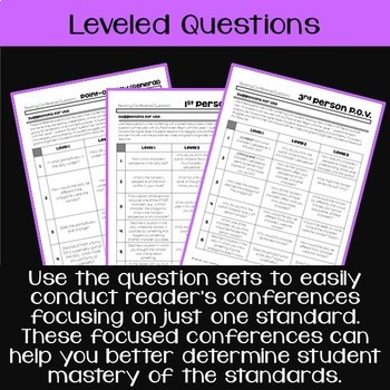 Teaching & Talking about Point-of-View: Notes, Leveled Questions, Task Cards