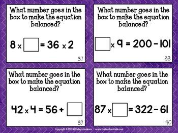 Teaching Tandems:  Algebra Thinking Concepts
