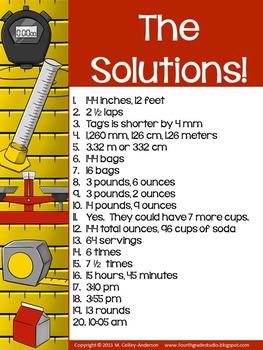 Teaching Tandems:  Measurement Problem Solving