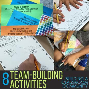 Teaching Teamwork:  8 Back to School Cooperative Activities