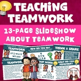 Teaching Teamwork and Cooperation Learning Activity