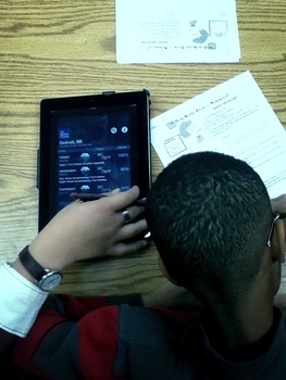 Teaching Temperature with the Weather Channel