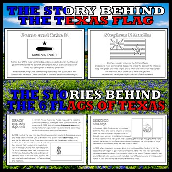 Teaching Texas: BOOK AND ACTIVITY BUNDLE