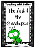 Teaching Text Evidence With Fables: The Ant & the Grasshopper