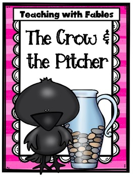Teaching Text Evidence With Fables: The Crow & the Pitcher
