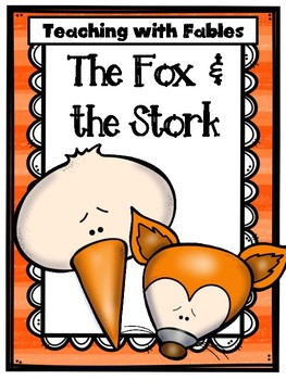 Teaching Text Evidence With Fables: The Fox & the Stork