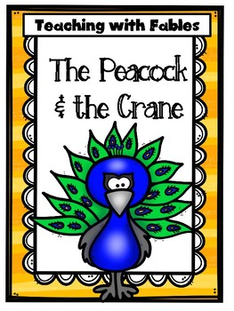 Teaching Text Evidence With Fables: The Peacock & the Crane