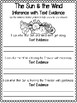 Teaching Text Evidence With Fables: The Sun & the Wind