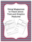 Teaching Text Features using magazines