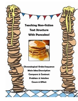 Teaching Text Structure with Pancakes-RI4.5