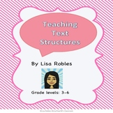 Teaching Text Structures