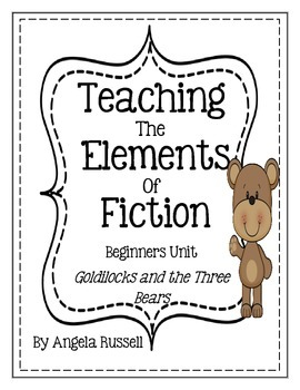 Teaching The Elements Of Fiction ~ Beginners Unit