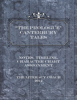 """Teaching """"The Prologue"""" to the Canterbury Tales - A Common Core Lesson"""