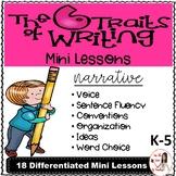 Six Traits of Writing Lesson Plans: Narrative
