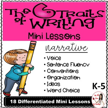 Six Traits of Writing Lesson Plans: Narrative