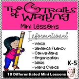 Teaching The Six Traits in Informational Writing
