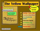 Teaching The Yellow Wallpaper  - Activities, Analysis, Handouts, History