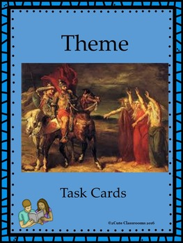 Teaching Theme Task Cards