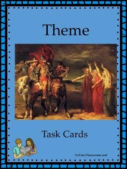 Teaching Theme Task Cards