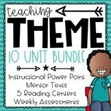 Teaching Theme Growing BUNDLE