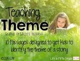 Teaching Theme: Passages Designed to Identify Theme