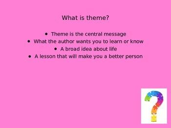 Teaching Theme Power Point