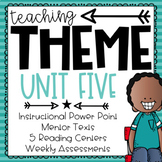 Teaching Theme   Details & Evidence   Google Classroom Ready Centers