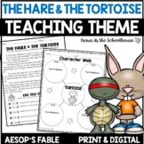 Teaching Theme The Hare and the Tortoise Easel Activity Di